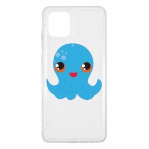 Etui na Samsung Note 10 Lite Cute jellyfish