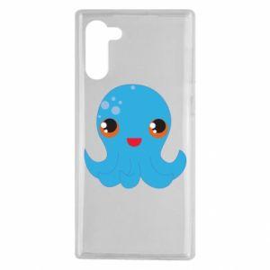 Etui na Samsung Note 10 Cute jellyfish