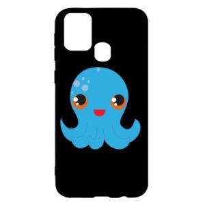 Etui na Samsung M31 Cute jellyfish