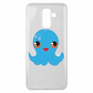Etui na Samsung J8 2018 Cute jellyfish