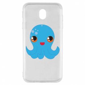 Etui na Samsung J7 2017 Cute jellyfish