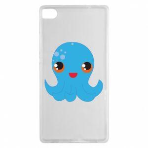 Etui na Huawei P8 Cute jellyfish