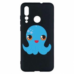 Etui na Huawei Nova 4 Cute jellyfish
