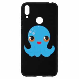 Etui na Huawei Y7 2019 Cute jellyfish