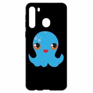 Etui na Samsung A21 Cute jellyfish