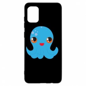 Etui na Samsung A31 Cute jellyfish