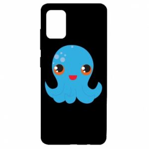 Etui na Samsung A51 Cute jellyfish