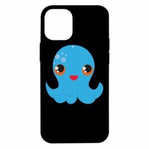 Etui na iPhone 12 Mini Cute jellyfish