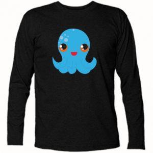 Koszulka z długim rękawem Cute jellyfish - PrintSalon