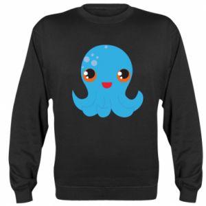 Bluza (raglan) Cute jellyfish - PrintSalon