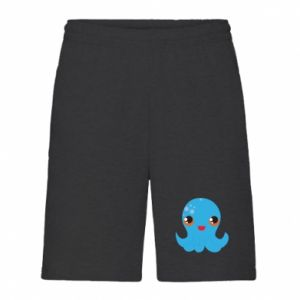 Męskie szorty Cute jellyfish - PrintSalon
