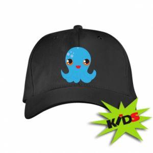 Dziecięca czapeczka z daszkiem Cute jellyfish - PrintSalon