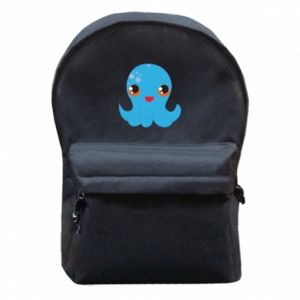 Backpack with front pocket Cute jellyfish