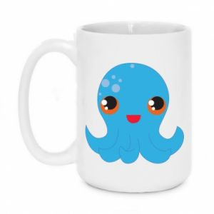 Kubek 450ml Cute jellyfish - PrintSalon