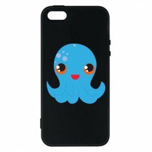 Etui na iPhone 5/5S/SE Cute jellyfish - PrintSalon