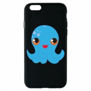 Etui na iPhone 6/6S Cute jellyfish - PrintSalon