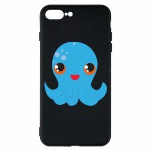 Etui na iPhone 7 Plus Cute jellyfish - PrintSalon