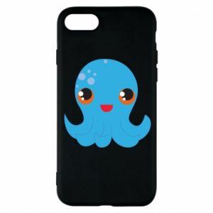 Etui na iPhone 8 Cute jellyfish - PrintSalon
