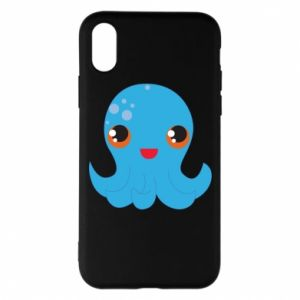 Phone case for iPhone X/Xs Cute jellyfish