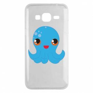 Etui na Samsung J3 2016 Cute jellyfish - PrintSalon