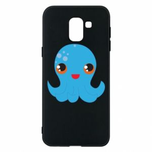 Phone case for Samsung J6 Cute jellyfish