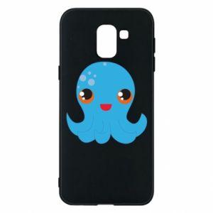 Etui na Samsung J6 Cute jellyfish