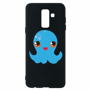 Phone case for Samsung A6+ 2018 Cute jellyfish