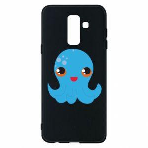 Etui na Samsung A6+ 2018 Cute jellyfish