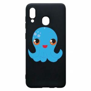 Etui na Samsung A20 Cute jellyfish - PrintSalon