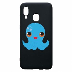 Phone case for Samsung A40 Cute jellyfish