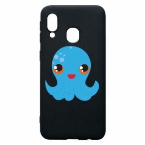 Etui na Samsung A40 Cute jellyfish - PrintSalon