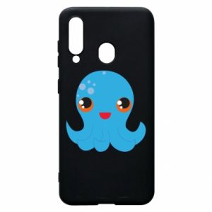 Phone case for Samsung A60 Cute jellyfish