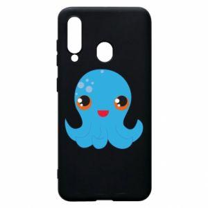 Etui na Samsung A60 Cute jellyfish - PrintSalon