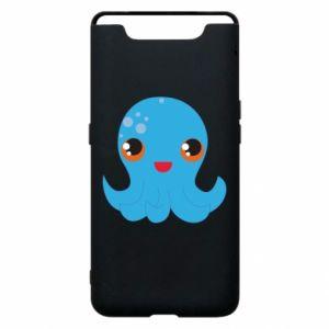 Etui na Samsung A80 Cute jellyfish - PrintSalon