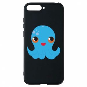 Phone case for Huawei Y6 2018 Cute jellyfish