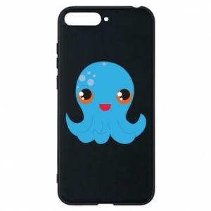Etui na Huawei Y6 2018 Cute jellyfish - PrintSalon