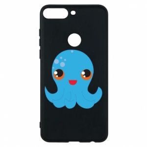 Phone case for Huawei Y7 Prime 2018 Cute jellyfish