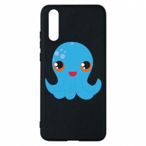 Etui na Huawei P20 Cute jellyfish - PrintSalon