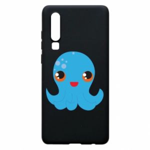 Phone case for Huawei P30 Cute jellyfish