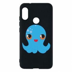 Etui na Mi A2 Lite Cute jellyfish - PrintSalon
