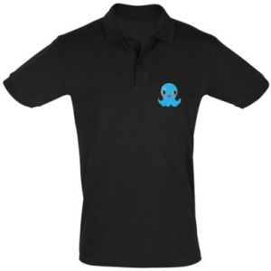 Men's Polo shirt Cute jellyfish