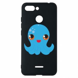 Phone case for Xiaomi Redmi 6 Cute jellyfish