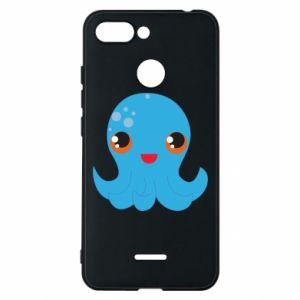 Etui na Xiaomi Redmi 6 Cute jellyfish - PrintSalon