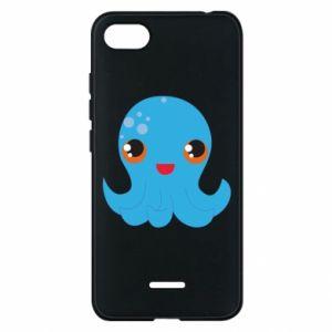 Etui na Xiaomi Redmi 6A Cute jellyfish - PrintSalon