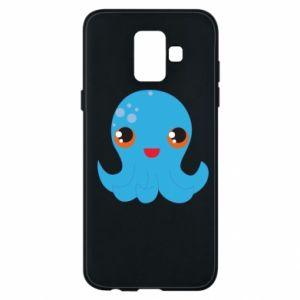 Etui na Samsung A6 2018 Cute jellyfish - PrintSalon