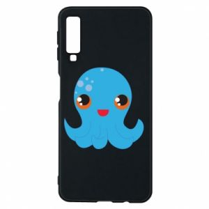Phone case for Samsung A7 2018 Cute jellyfish
