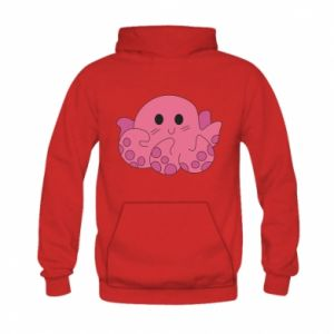 Bluza z kapturem dziecięca Cute octopus