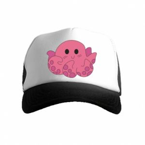 Czapka trucker dziecięca Cute octopus