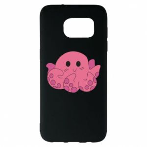 Etui na Samsung S7 EDGE Cute octopus