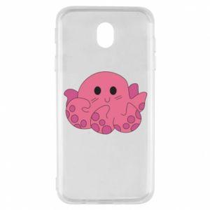 Etui na Samsung J7 2017 Cute octopus